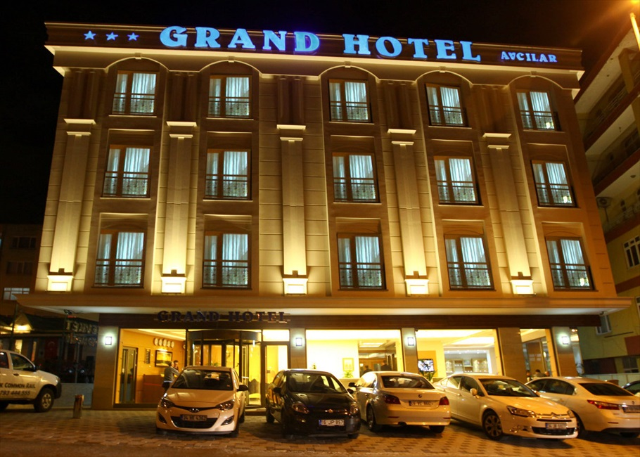 grand hotel outer view